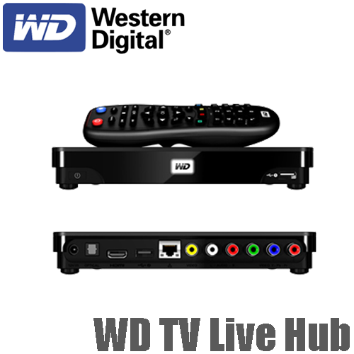 western digital wd tv live hub manual