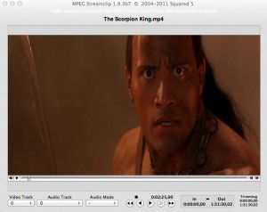 MPEG Streamclip Screen Capture