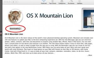 mountain lion download screen
