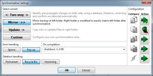 Free File Sync Setting
