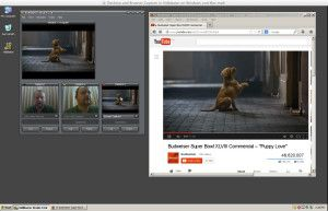 Web Browser and Desktop Capture in Vidblaster Image