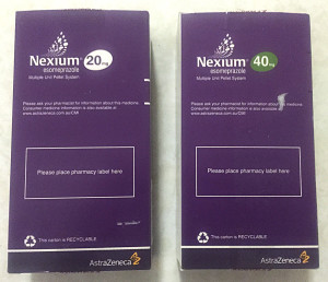 Nexium Box Back
