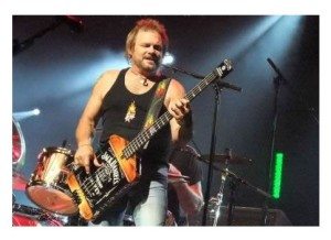 Michael Anthony Jack Daniels Yamaha Bass