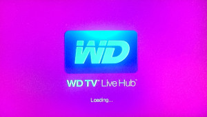 WDTV Pink Screen