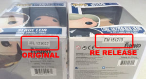 An Original date stamp VS a Re Release Date Stamp