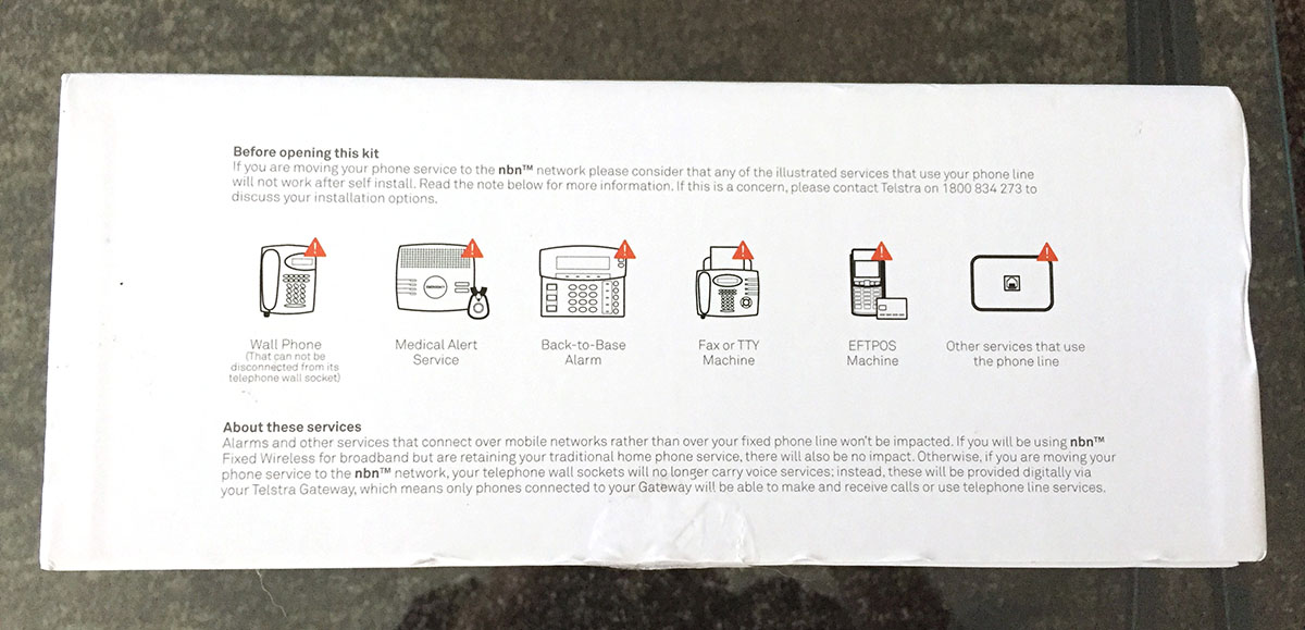 Telstra Gateway Max 2 Unboxing Features and Instructions   The Webernets