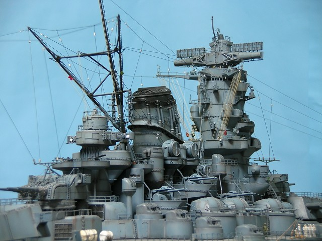 Projet: Cuirassé IJN Yamato Nichimo | N° 050515 | 1:200 Yamato223