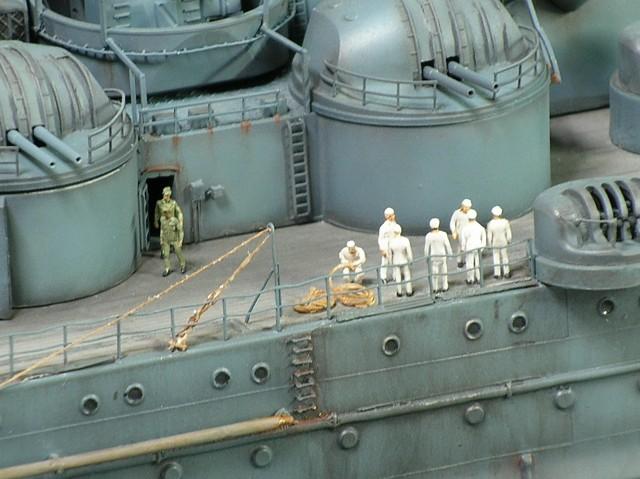Projet: Cuirassé IJN Yamato Nichimo | N° 050515 | 1:200 Yamato229