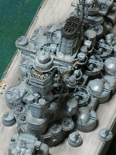 Projet: Cuirassé IJN Yamato Nichimo | N° 050515 | 1:200 Yamato238