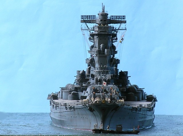 Projet: Cuirassé IJN Yamato Nichimo | N° 050515 | 1:200 Yamato240